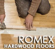 Romex hardwood flooring installation Marietta GA.